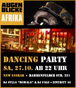 Abschlussparty afrikanisches Filmfestival in Hamburg
