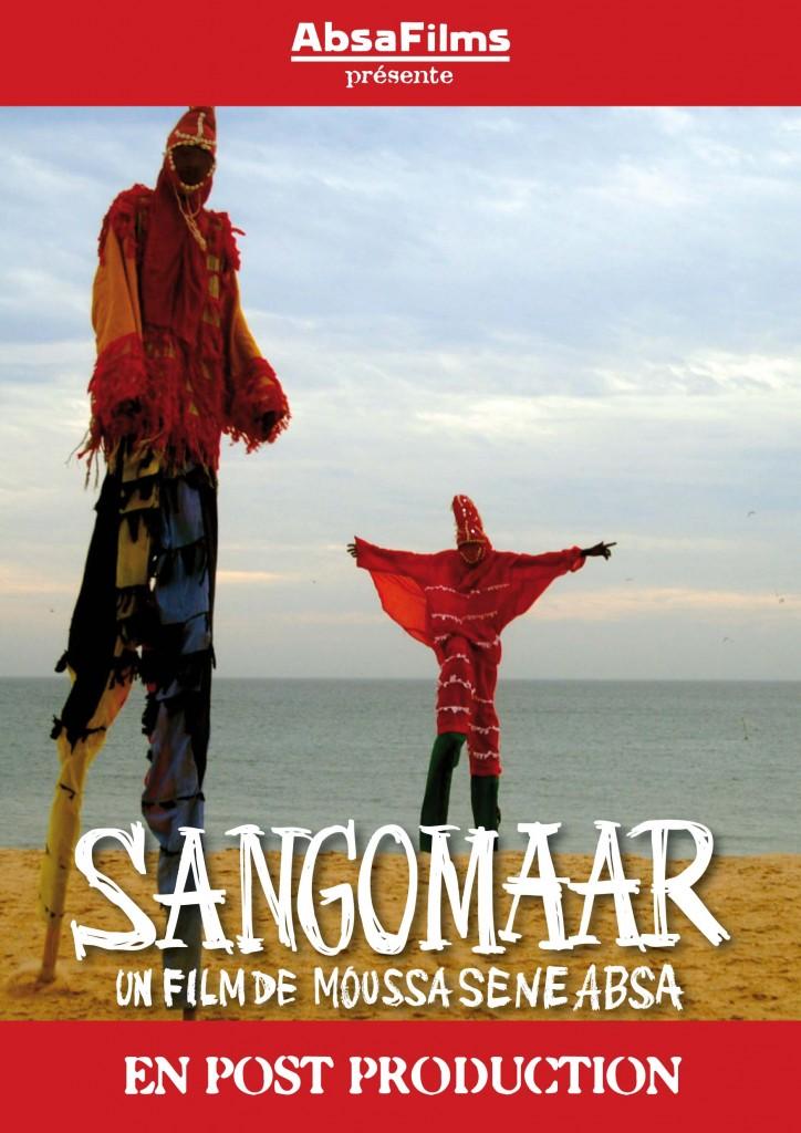 Filmplakat Sangomar, ein Film in Postproduktion