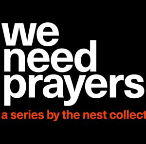 we need prayers poster